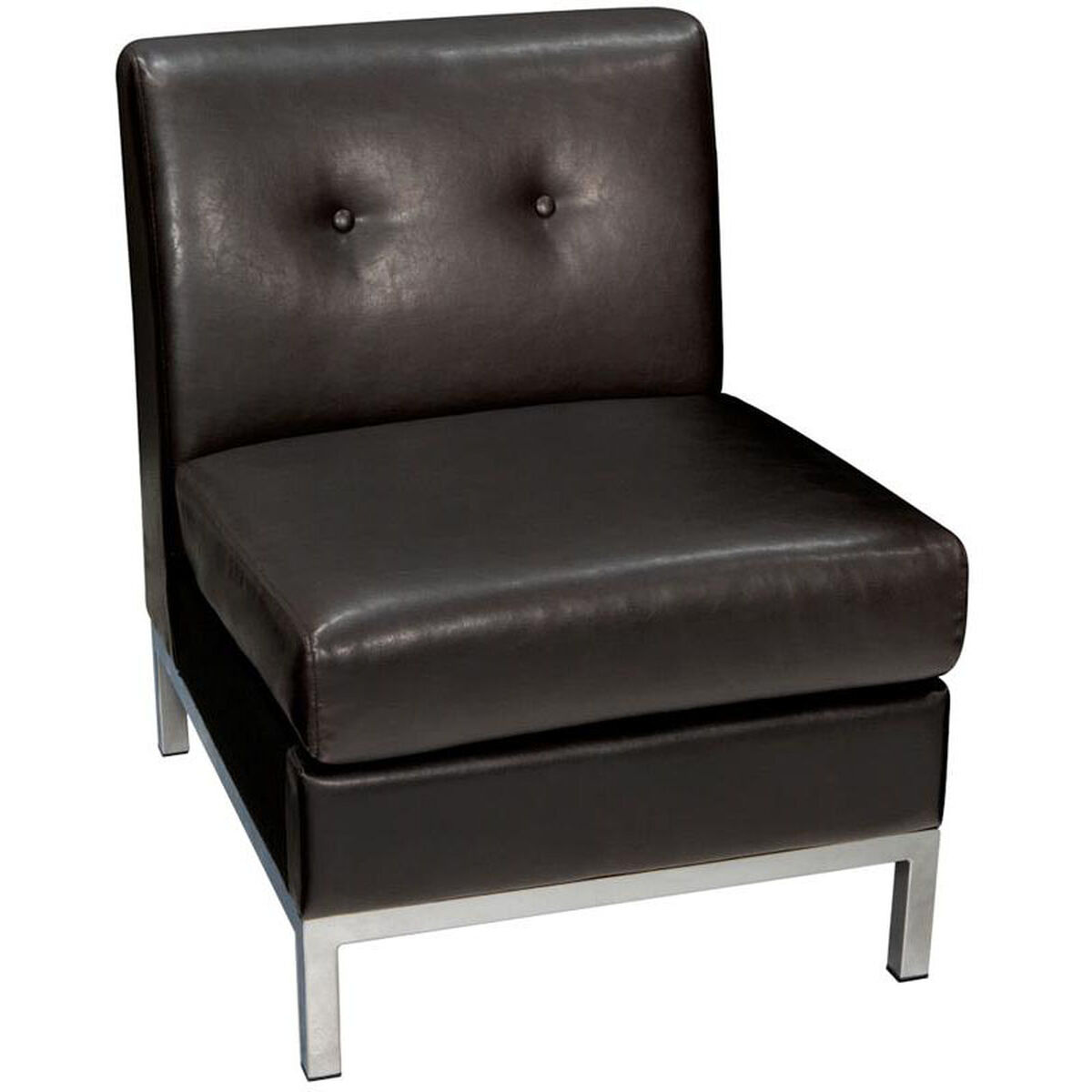 Ave Six Espresso Lounge Chair Wst51n E34