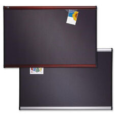 Quartet Prestige Plus Heirloom Gray Diamond Mesh Bulletin Board - 48