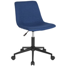 Siena Home and Office Task Chair in Blue Fabric