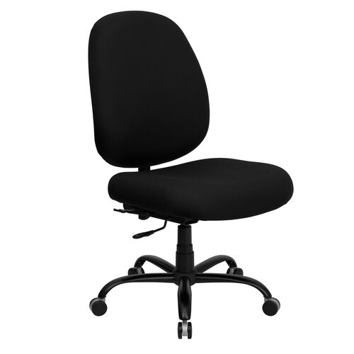 Our HERCULES Series Big & Tall 400 lb. Rated Black Fabric Executive Swivel Ergonomic Office Chair with Adjustable Back is on sale now.
