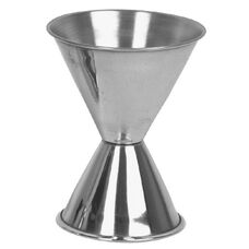 Dual Measure 1 and 2 oz Stainless Jigger