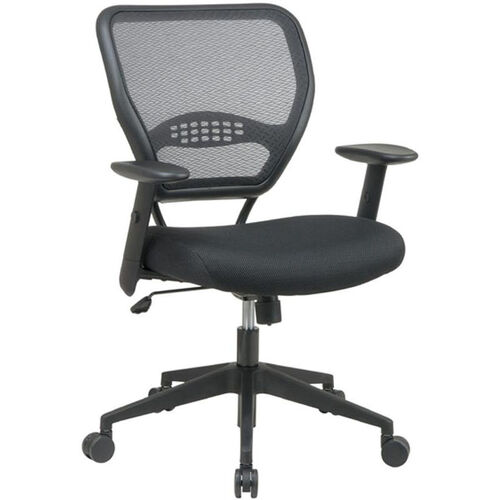 Quick Ship NexStep Management Chair with Mesh Back and Fabric Seat