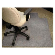 Lorell Medium Pile Antistatic Standard Chairmat with Lip