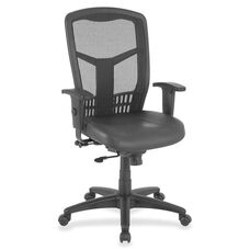 Lorell Executive Chair - Side/Synchr - 28
