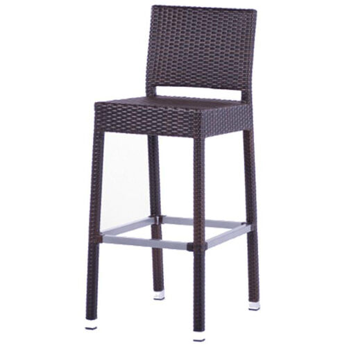 Our Gama Outdoor Weave Series Barstool with Back - Espresso is on sale now.
