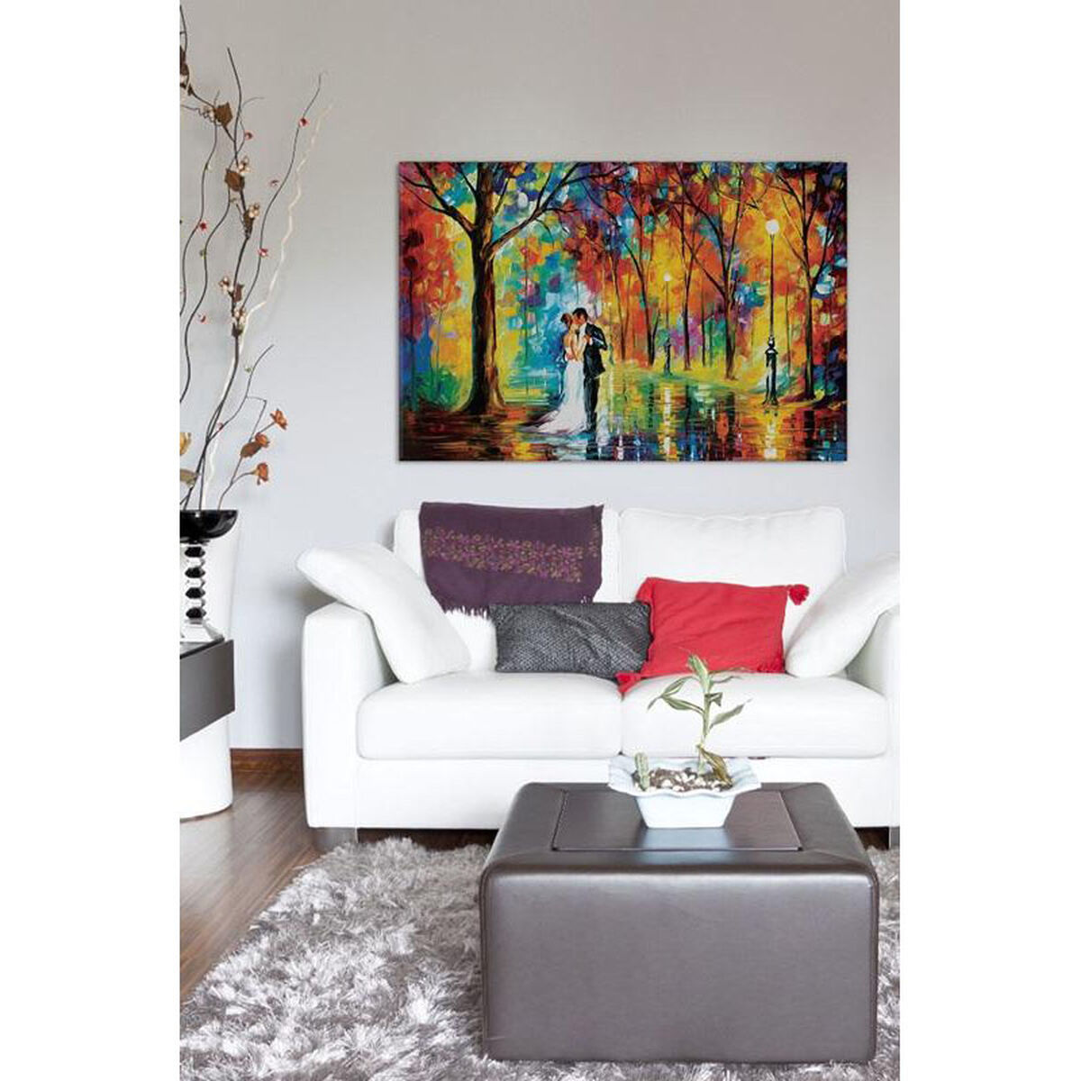 Canvas Artwork Floating Frame LEA69-1PC6-26x18-FF01 ...