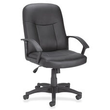 Lorell Executive Mid -Back Chair - 27-1/2