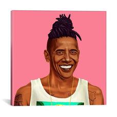 Barack Obama by Amit Shimoni Gallery Wrapped Canvas Artwork - 18