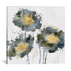 Flower Burst Trio by Vanessa Austin Gallery Wrapped Canvas Artwork