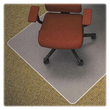 Lorell Chair Mat - Medium Pile - Standard Lip - 36