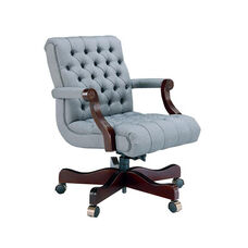 Heritage Series Low Back Swivel Chair with Tufts