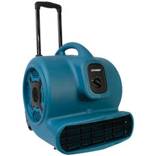 P-800H Powerful 3 Speed Professional Air Mover with Telescopic Handle, Wheels, and 3/4 HP