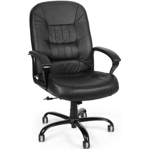 Our Big & Tall Leather Chair - Black is on sale now.
