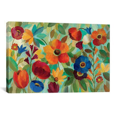 Summer Floral V by Silvia Vassileva Gallery Wrapped Canvas Artwork