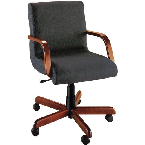Our Quick Ship Scoop Management Chair with Wood Arms is on sale now.
