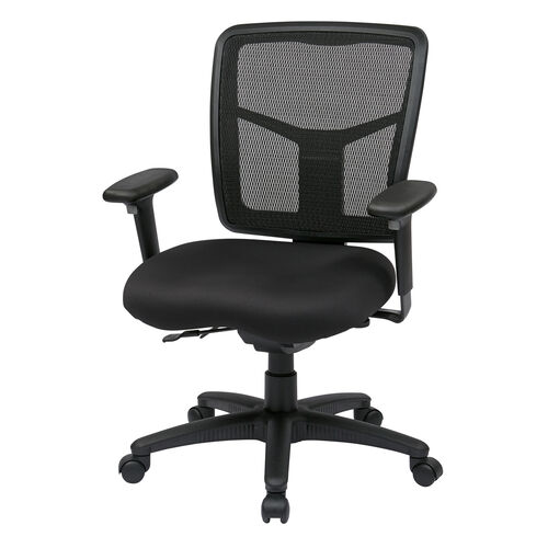 Our Pro-Line II ProGrid® Back Managers Chair with Adjustable Seat and Arms - Black is on sale now.