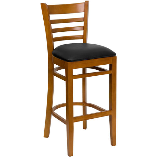 Our Ladder Back Wooden Restaurant Barstool is on sale now.