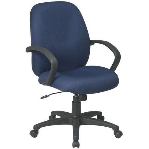 Our Work Smart Executive Mid Back Managers Chair with C style Arms is on sale now.