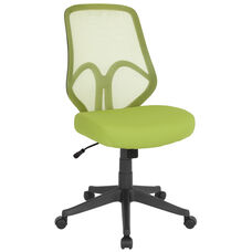 Salerno Series High Back Green Mesh Chair