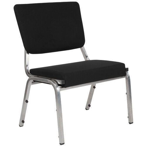 Our HERCULES Series 1500 lb. Rated Black Antimicrobial Fabric Bariatric Antimicrobial Medical Reception Chair with 3/4 Panel Back is on sale now.