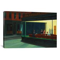 Nighthawks, 1942 by Edward Hopper Gallery Wrapped Canvas Artwork