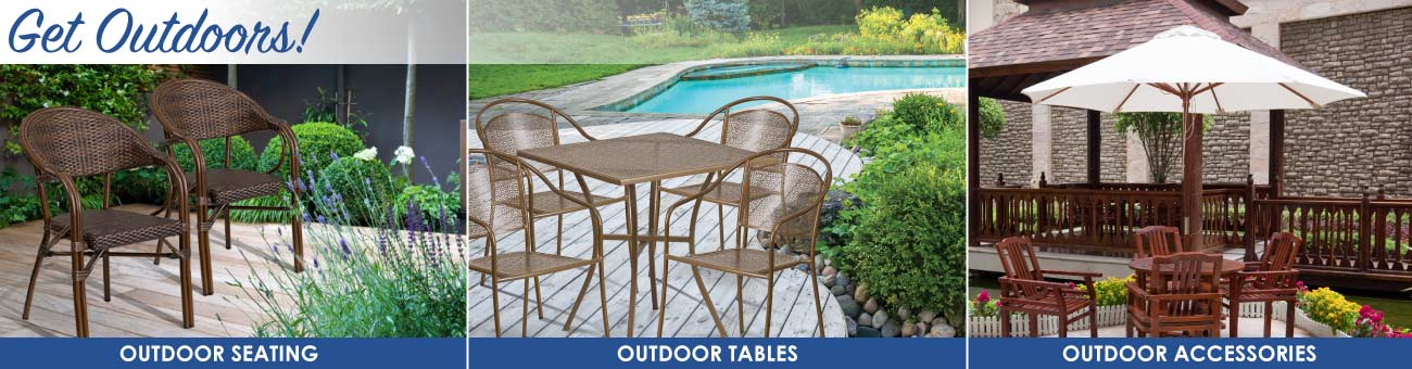 Get Outdoors: Outdoor Furniture