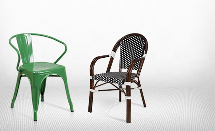 Genial Metal Indoor U0026 Outdoor Chairs